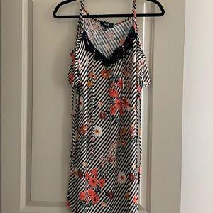 NEW Cold Shoulder Women's Floral Dress size S